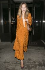Suki Waterhouse Leaving Palms Restaurant In Beverly Hills