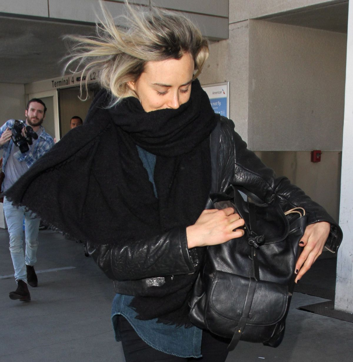 Taylor Schilling At LAX