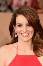 Tina Fey At 22nd Annual Screen Actors Guild Awards at Shrine Auditorium In LA