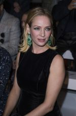 Uma Thurman Ralph & Russo At Haute Couture Spring/Summer 2016 Fashion Show