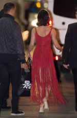 Vanessa Hudgens Leaving Jimmy Kimmel Live