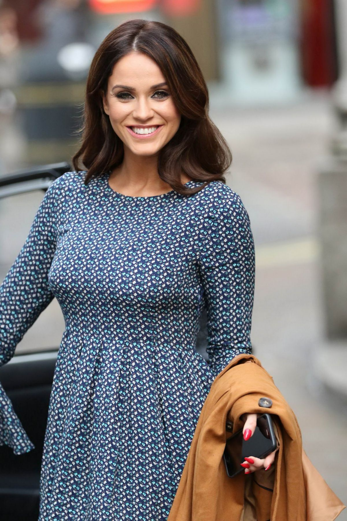 Vicky Pattison Leaving The Weekend Show In London
