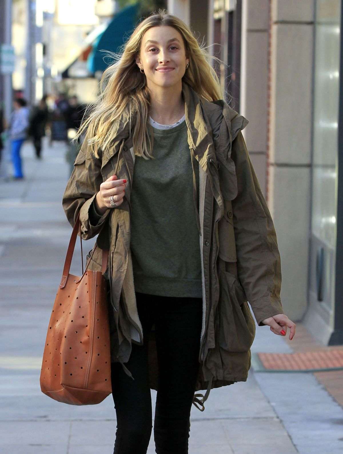 Whitney Port Out In Beverly Hills