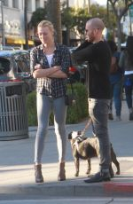 Yvonne Strahovski Out And About In Beverly Hills