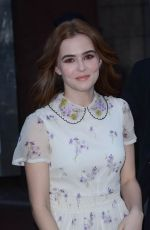 Zoey Deutch At Today Show In New York