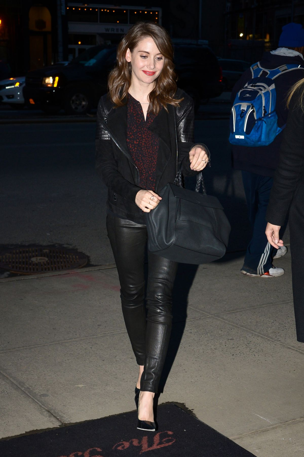 Alison Brie Out In NYC