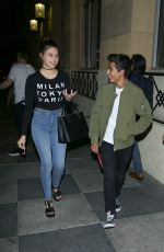 Amber Montana Outside The Roosevelt Hotel In Hollywood