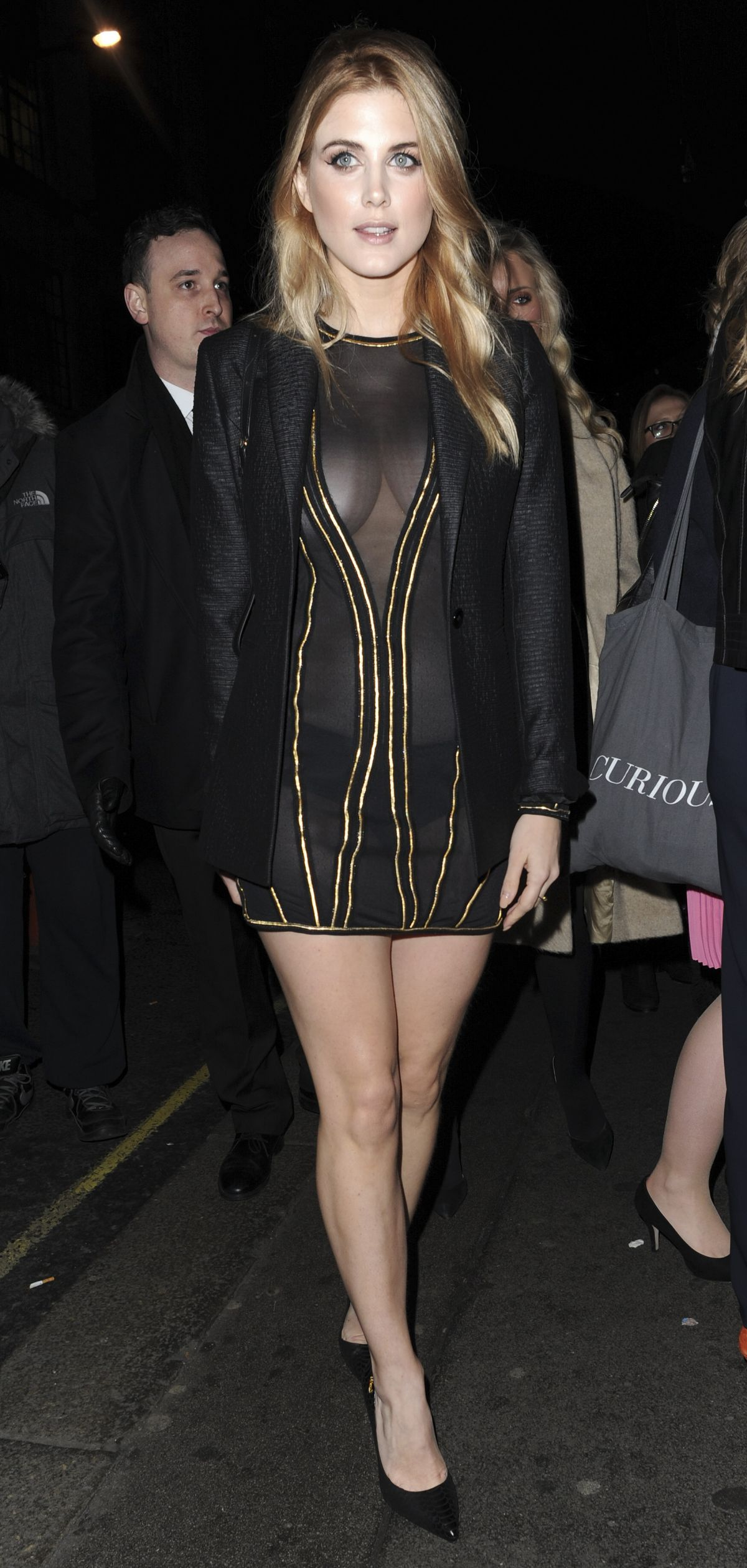 Ashley James At InStyle EE Rising Star Award BAFTAS Party In London