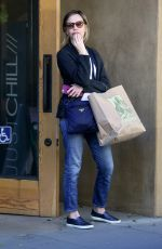 Calista Flockhart Leaving Patagonia In Santa Monica