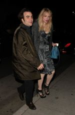 Courtney Love Dine Out At Mr Chow In Beverly Hills