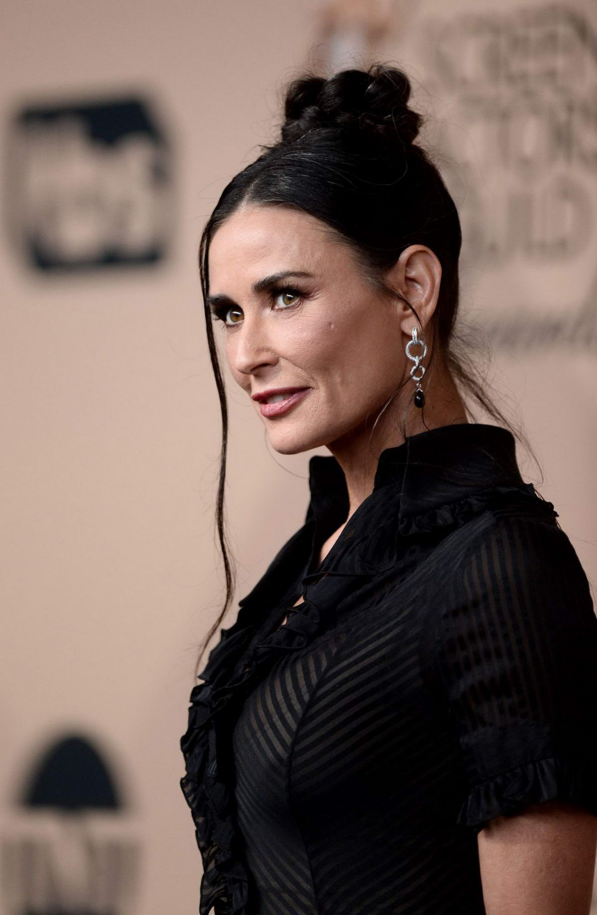Demi Moore At SAGA 201...