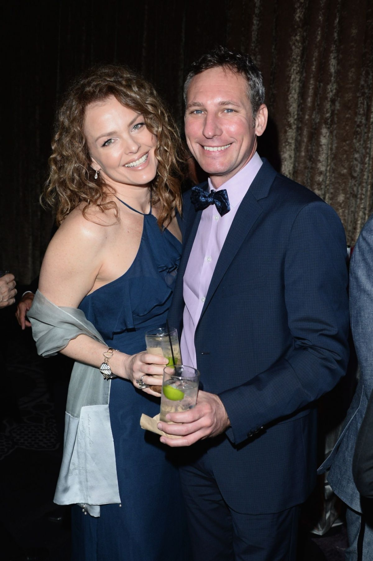 Dina Meyer At 18th Costume Designers Guild Awards Cocktail Receprion