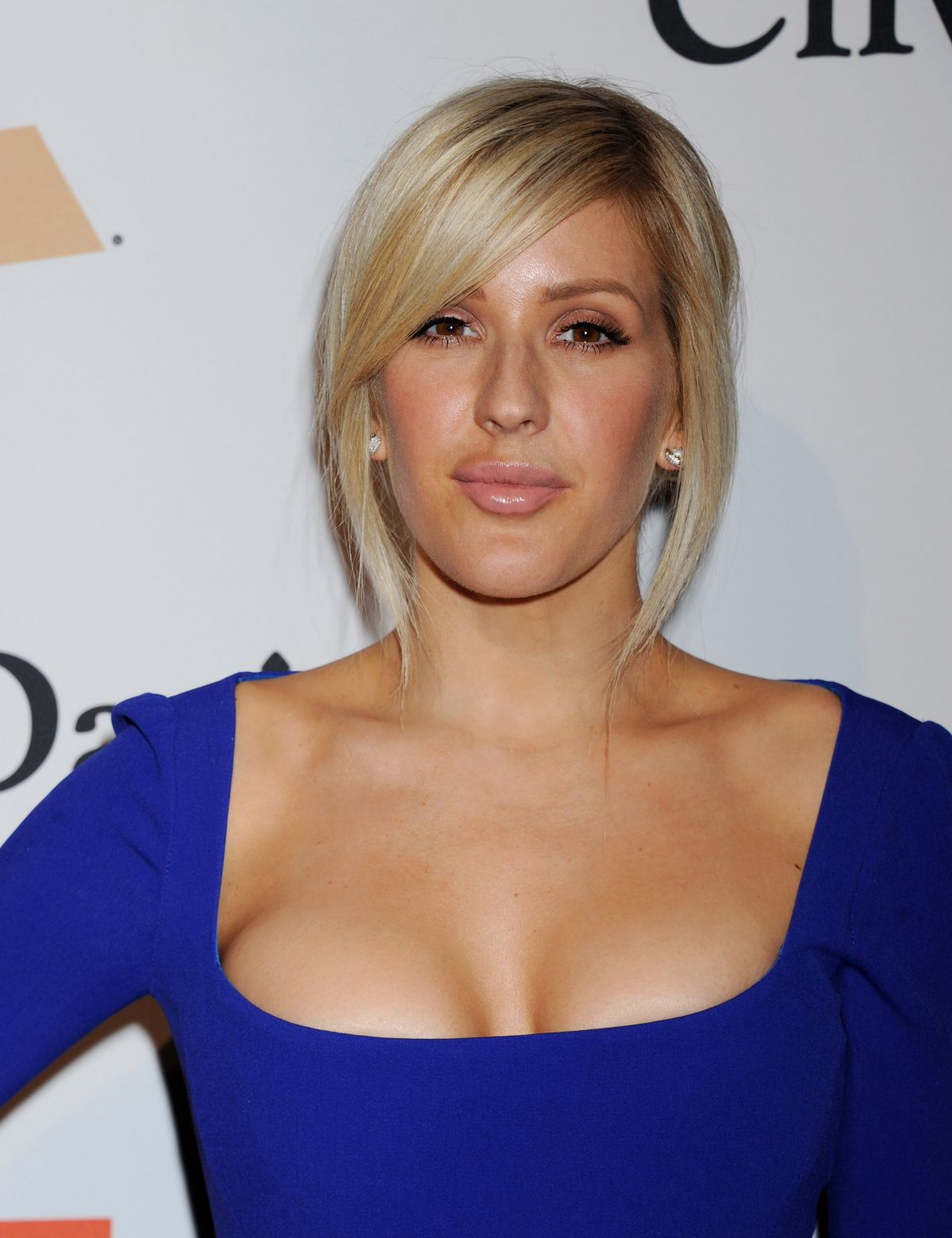Ellie Goulding At 2016 Pre-GRAMMY Gala and Salute to ...