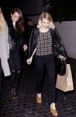 Emma Roberts Leaving Chateau Marmont In LA