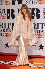 Florence Welch At BRIT Awards 2016 In London