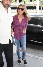 Giada De Laurentiis At LAX Airport