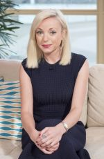 Helen George At This Morning TV Programme. UK