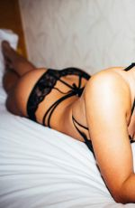 India Reynolds Day 1 Isla At London Lingerie Shoot by Martin Murillo