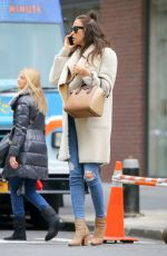 Irina Shayk Out In NYC