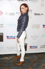Jessica Sutta At 2016 Red Carpet Style and Beauty Lounge In Beverly Hills