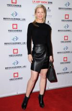 Josie Davis At The LA Art Show and The LA Fine Art Show Opening Night Premiere Party