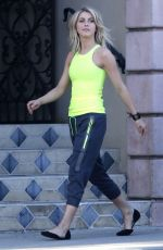 Julianne Hough On Set Of A Photoshoot In West Hollywood