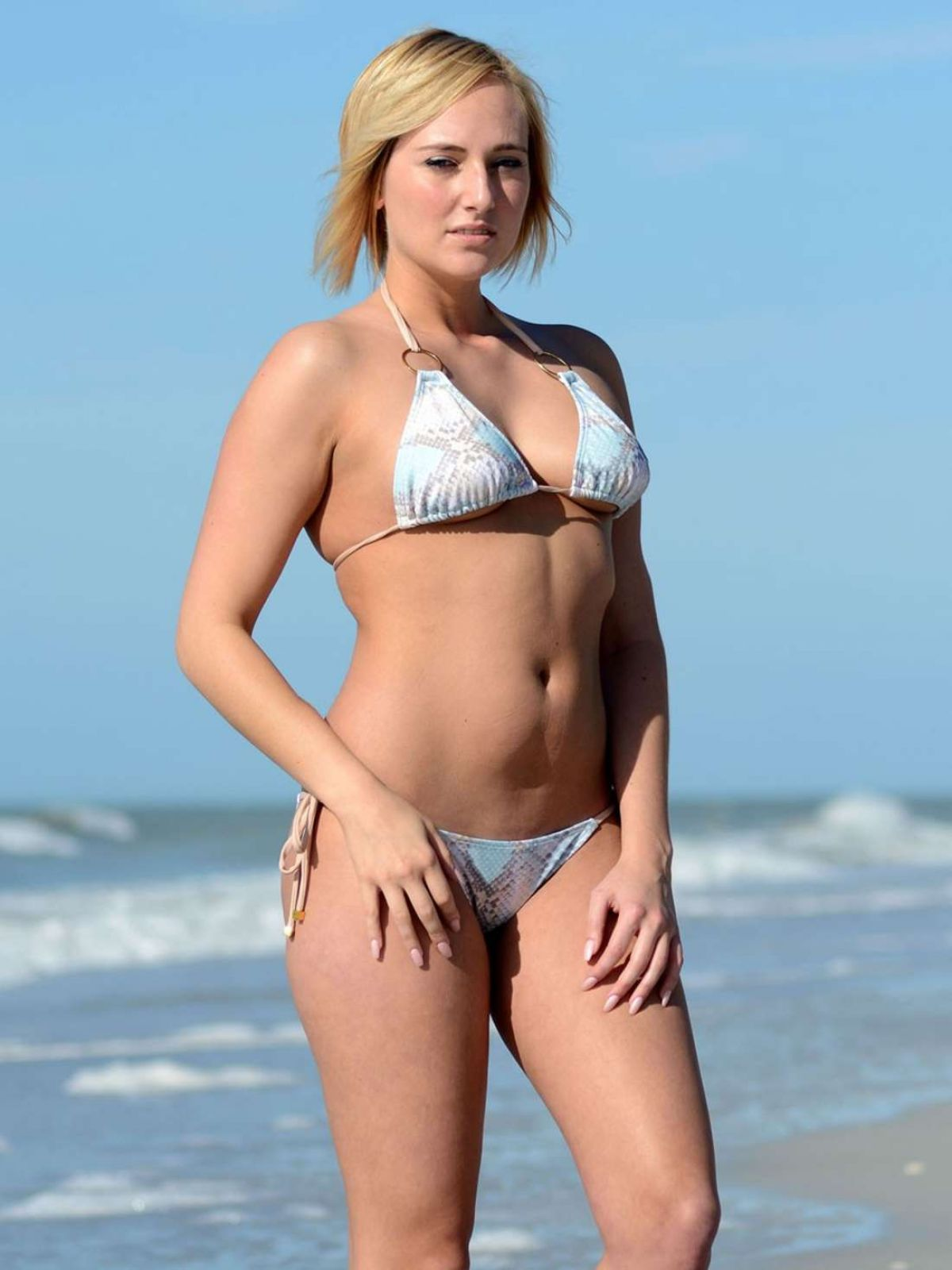 Kate England In Bikini In Miami