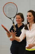 Kate Middleton With Andy Murray