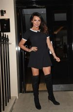 Lizzie Cundy At Leona Lewis x Kiss Nails Launch In London
