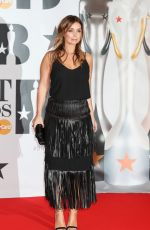 Louise Redknapp At BRIT Awards At O2 Arena In London