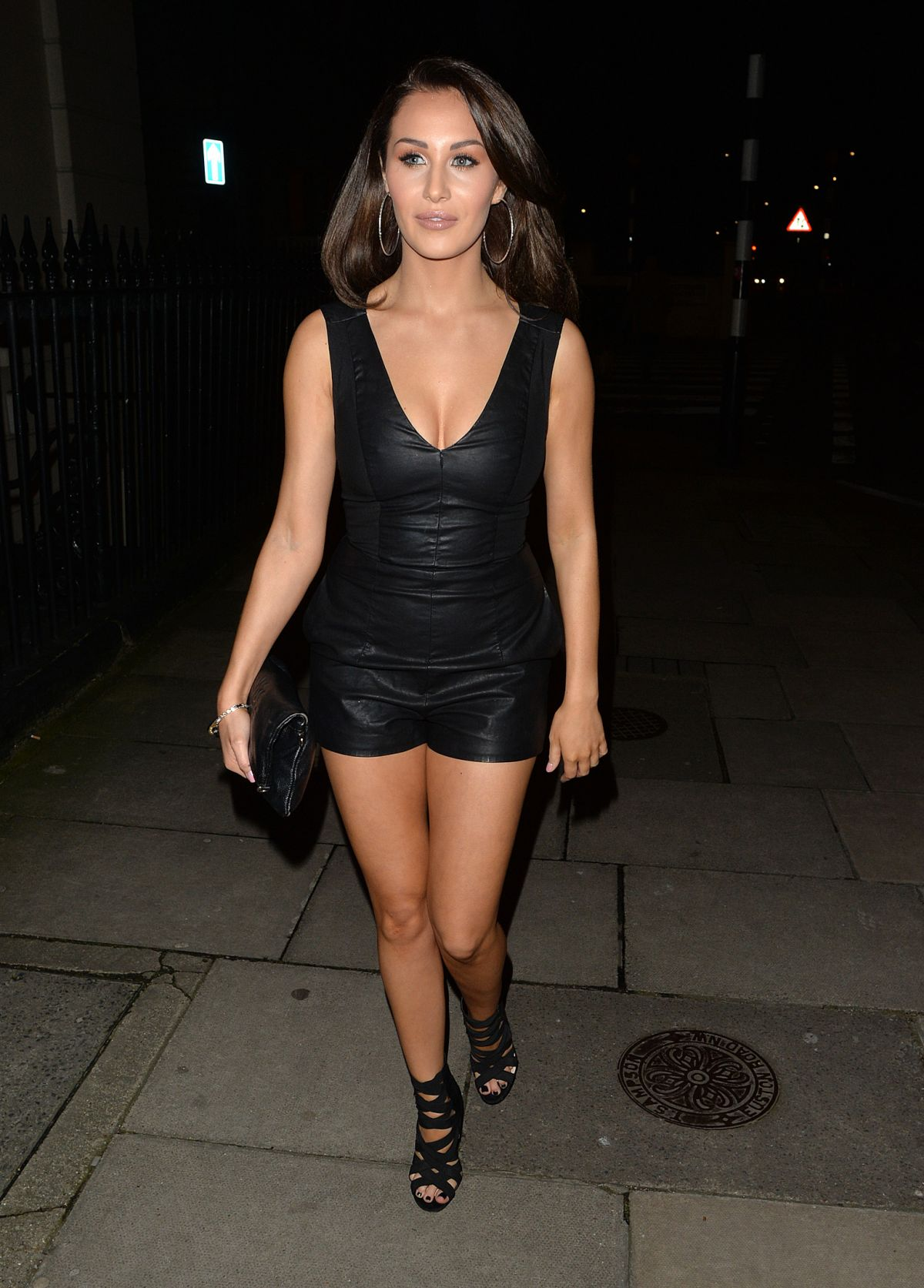 Marnie Simpson, Chloe & Lauryn Goodman Seen At Hard Rock ...