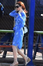 Nicola Roberts Heading To A Beach In Barbados
