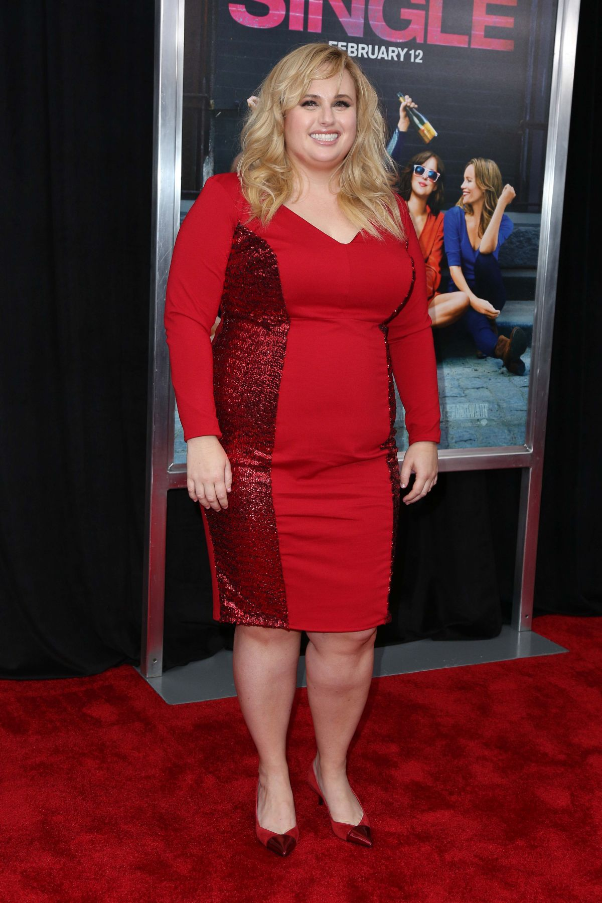 """Rebel Wilson At €�how To Be Single"""" Ny Premiere"""