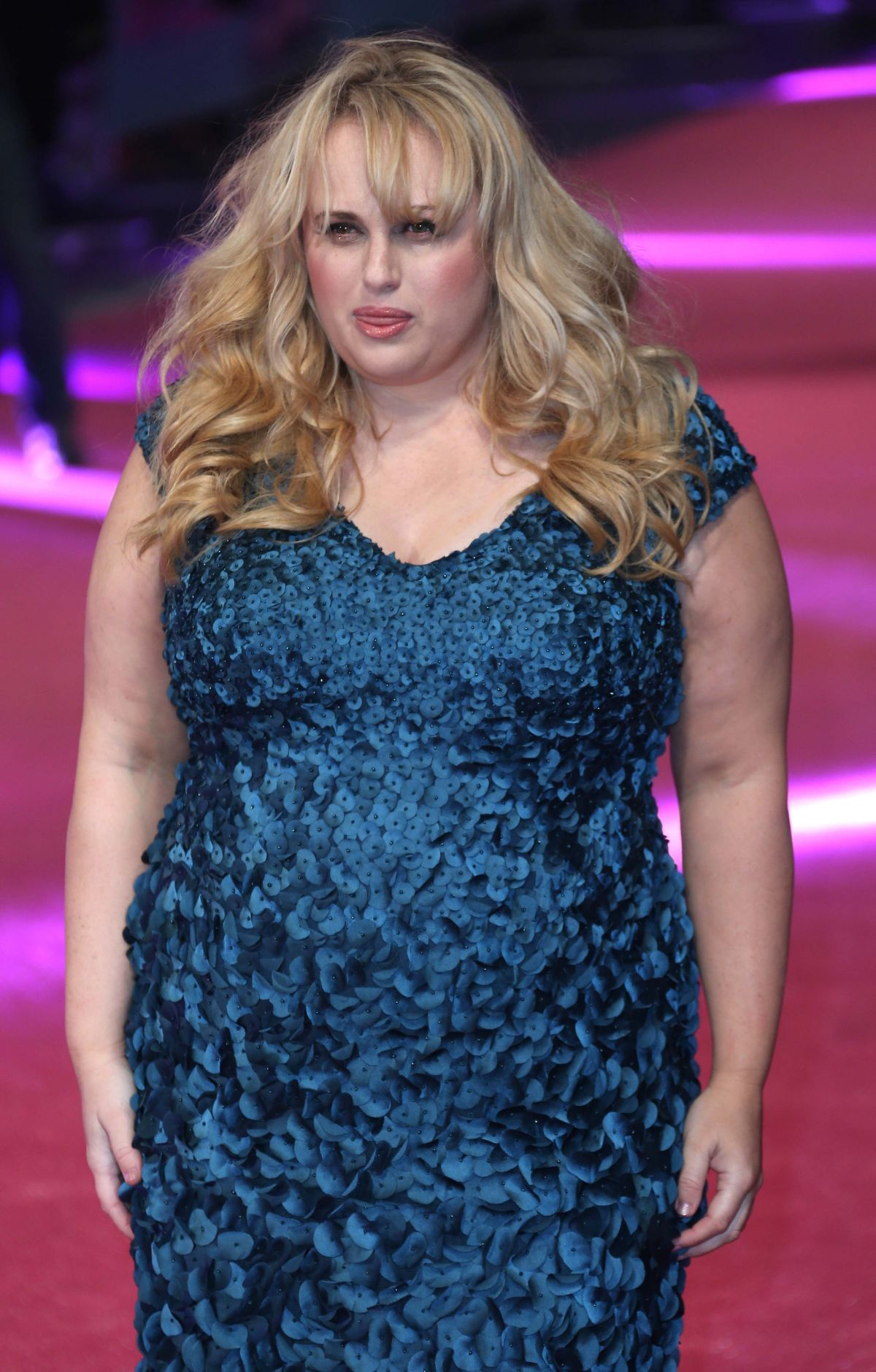 Rebel Wilson At How To Be Single Premiere In London