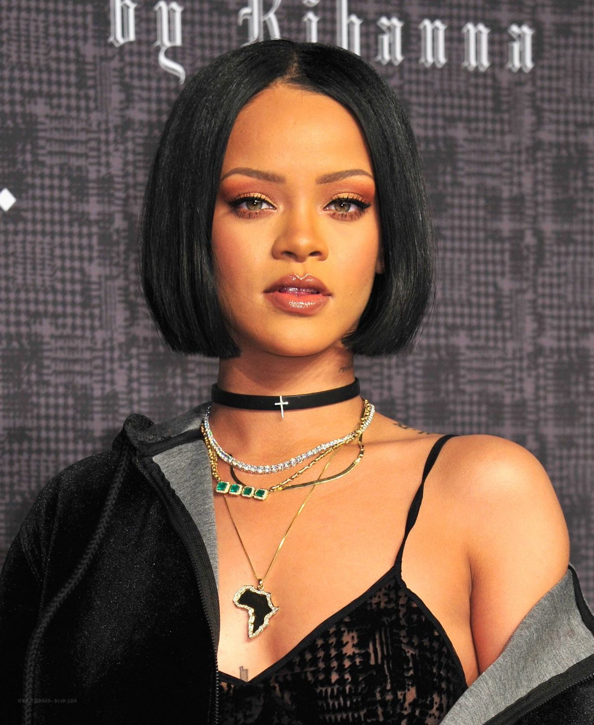 Rihanna At Fenty Puma Fall 2016 Collection In New York