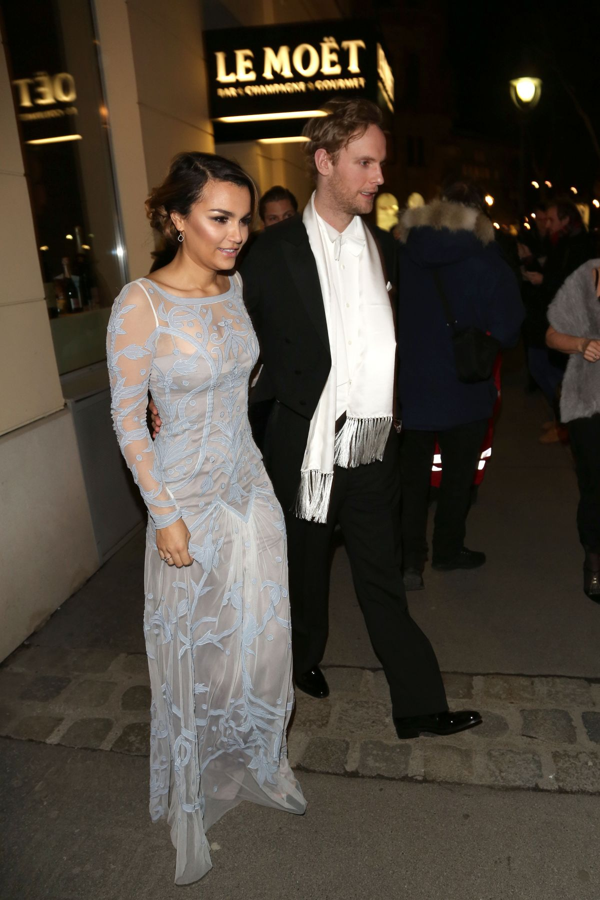 Samantha Barks Leaves The Traditional Opera Ball In Vienna
