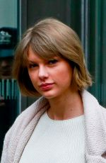 Taylor Swift Leaving The Offices Of Vogue Magazine In New York City
