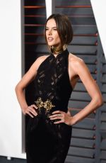 Alessandra Ambrosio At Vanity Fair Oscar Party In Beverly Hills