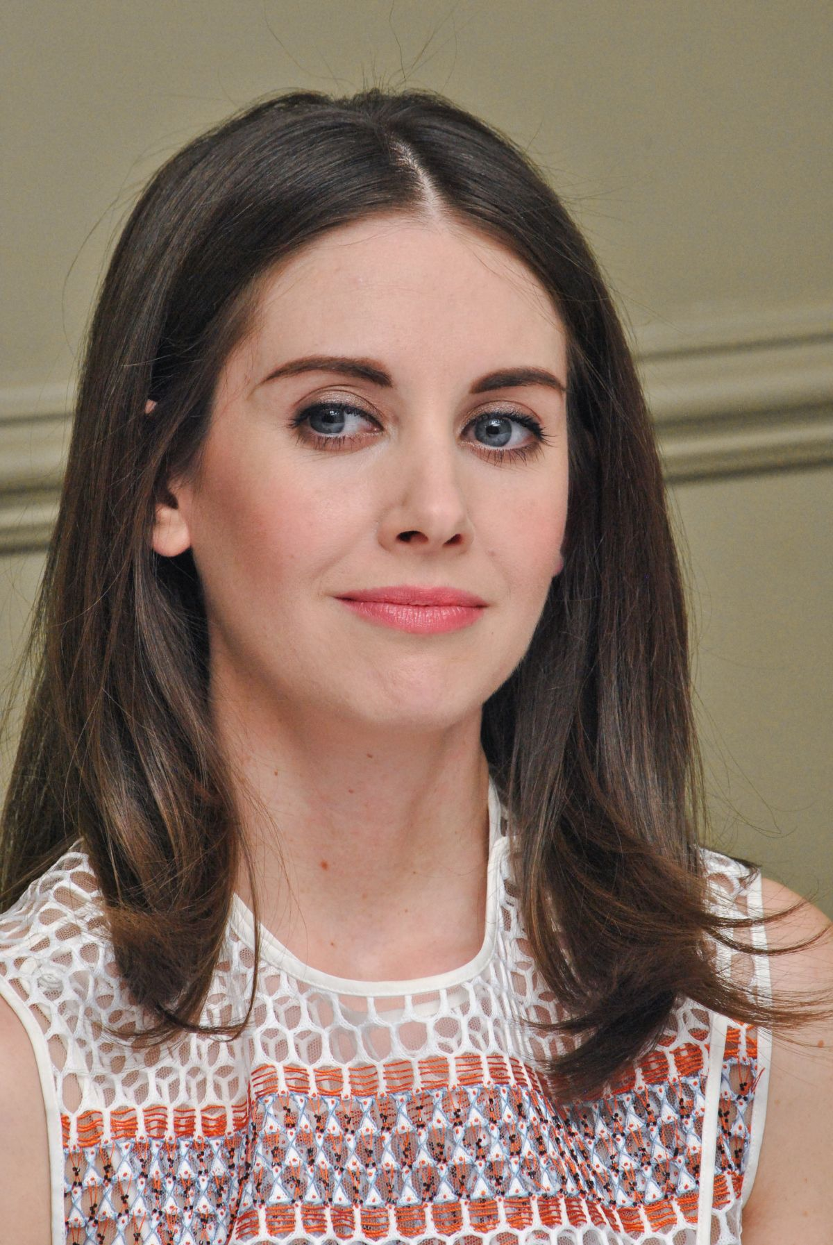 Alison Brie At Press Conference For 'how To Be Single' In La