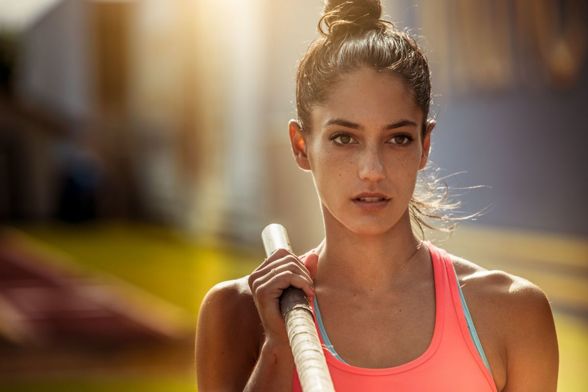 Allison Stokke At The One X The Wonder Photoshoot - Celebzz - Celebzz