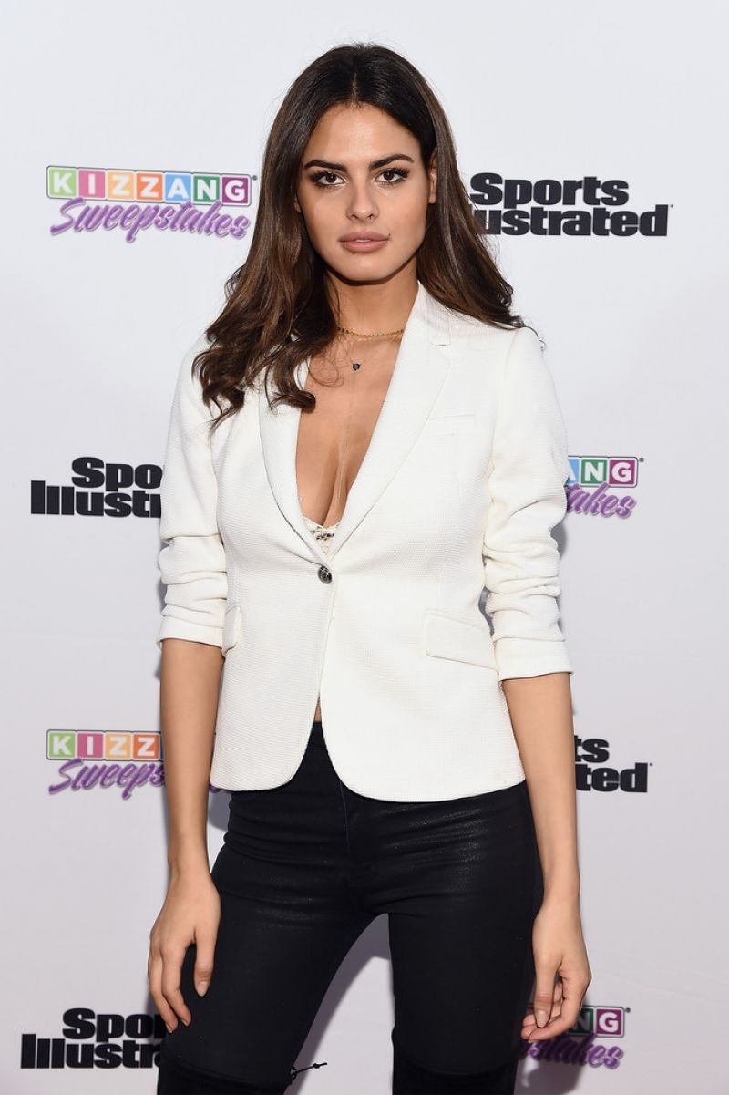Bo Krsmanovic At Sports Illustrated & KIZZANG Bracket Challenge Party In NYC