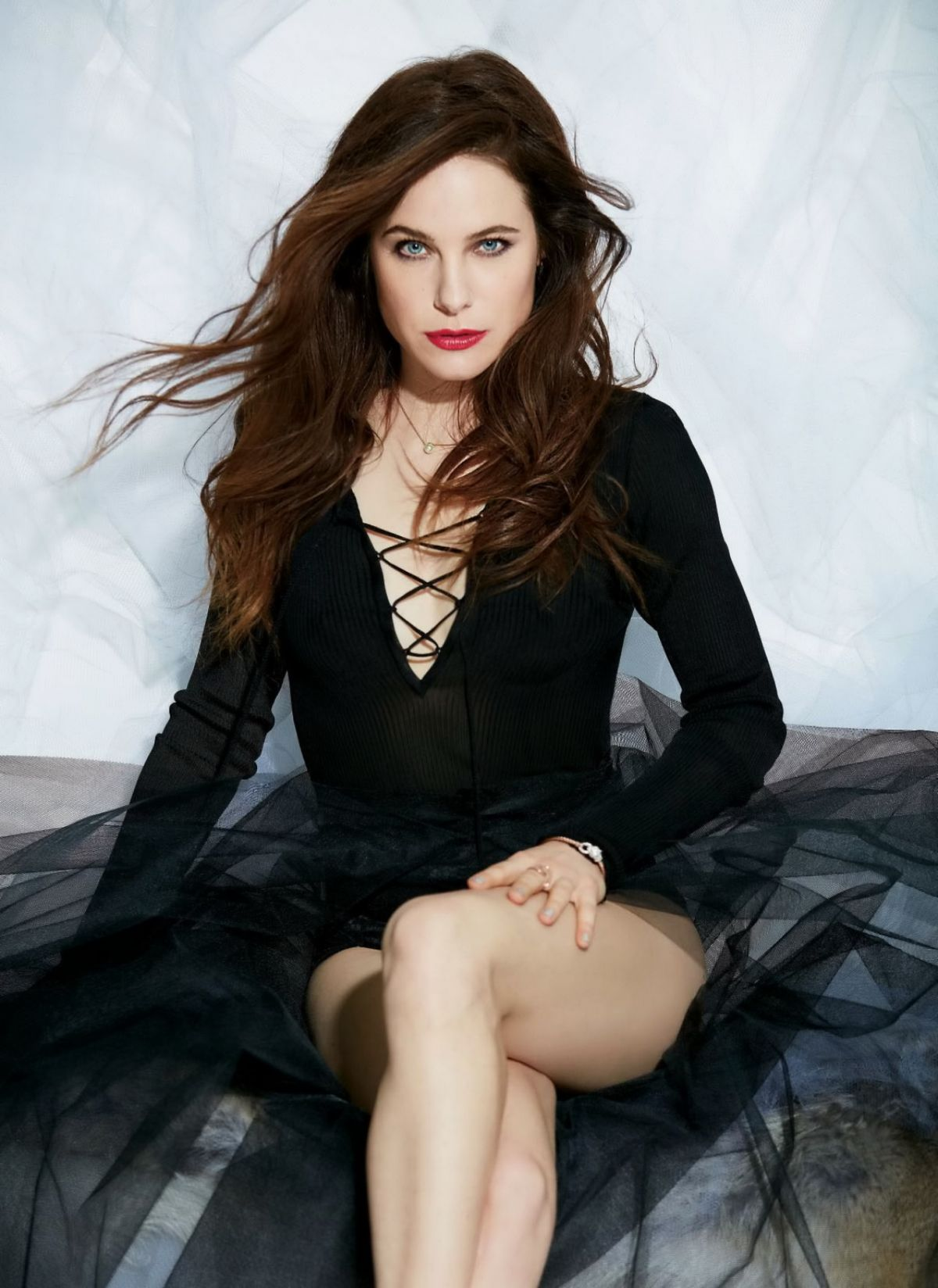Caroline Dhavernas In Pure Magazine April 2016