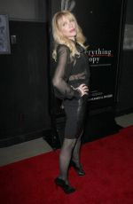 Courtney Love At Everything Is Copy LA Premiere At The TCL Chinese 6 Theaters In Los Angeles