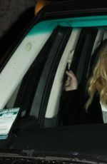 Courtney Love Leaves Madeo Restaurant In West Hollywood