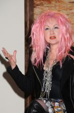 Cyndi Lauper At Launch Of New Country Album 'Detour' In Nashville