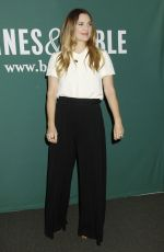 Drew Barrymore At 'Wildflower' Book Signing At Barnes & Noble In NYC