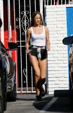 Edyta Sliwinska Leaving DWTS Studio In Hollywood
