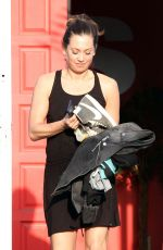 Ginger Zee At DWTS Rehearsals In Hollywood