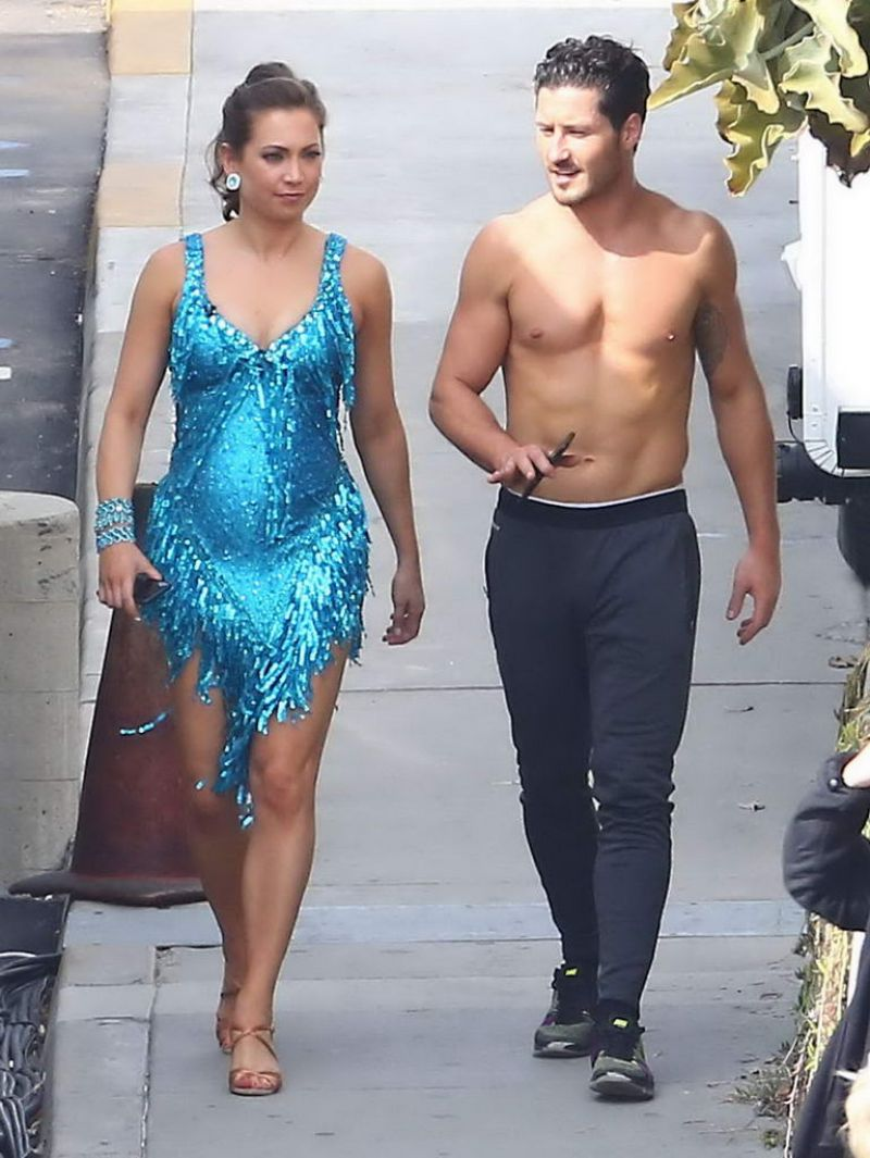 Ginger Zee At DWTS Studios In Hollywood