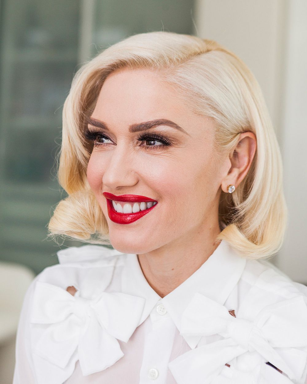 Gwen Stefani At Emily Berl Photoshoot For Ny Times March